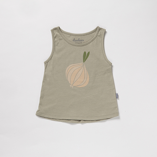 Moji Sleeveless T-Shirt
