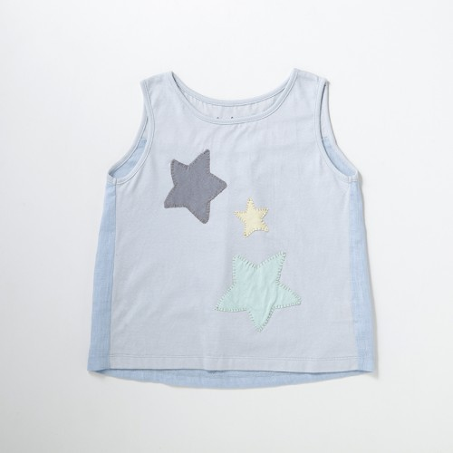 Star Sleeveless T-shirt