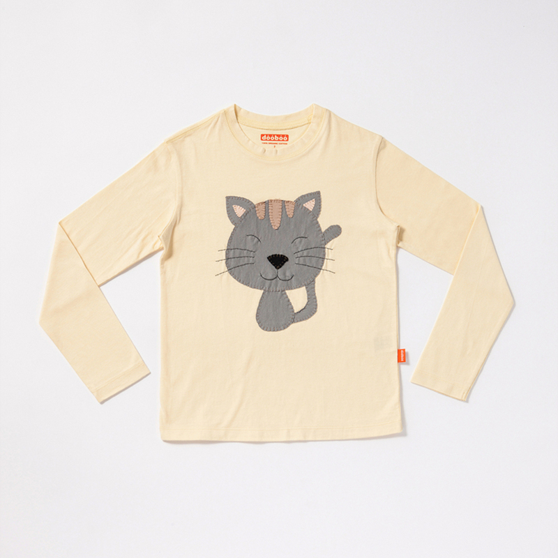 Cat Long Sleeve-T-shirt
