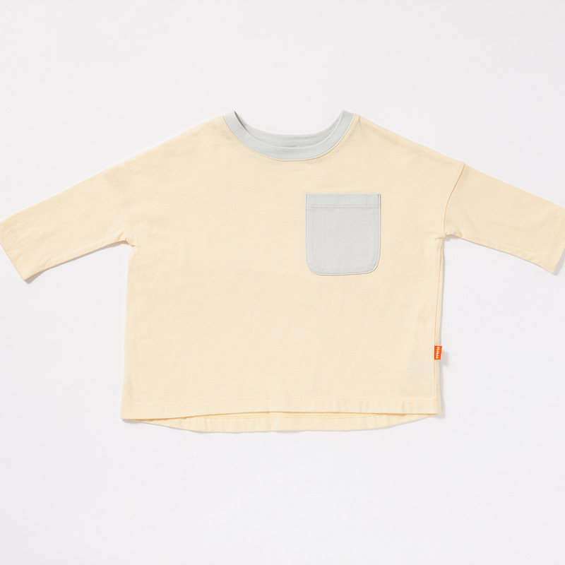 Cropped Boxy Pocket T-shirt